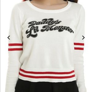 DC Comics Harley Quinn Daddy's Lil Monster Sweater